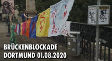 [XR Dortmund 01.08.2020] Blockade Möllerbrücke by Extinction Rebellion Germany Kanal